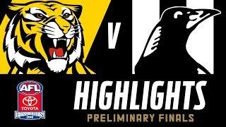 Richmond v Collingwood Highlights | Preliminary Final, 2018 | AFL