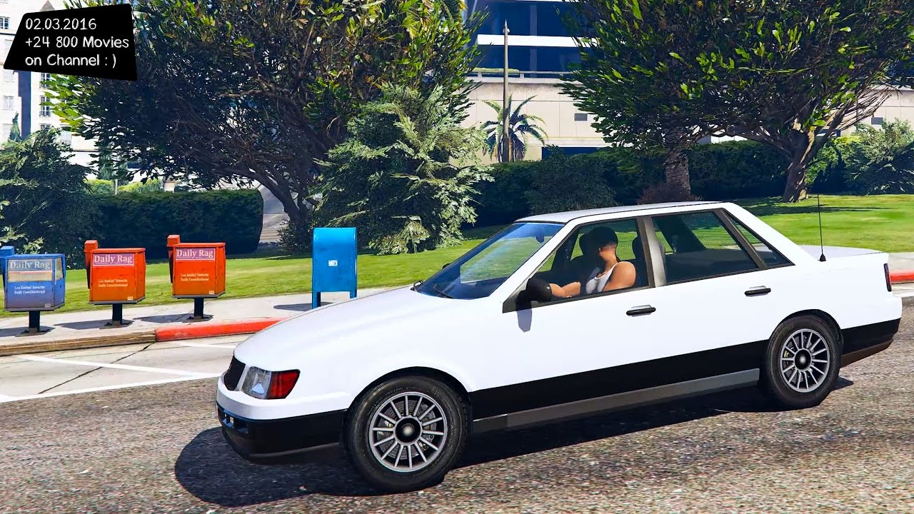 Vulcar Ingot Sedan Gta V Enb Youtube