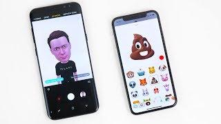 Samsung Galaxy S9 AR Emoji VS iPhone X Animoji – НЕ ОЖИДАЛ!