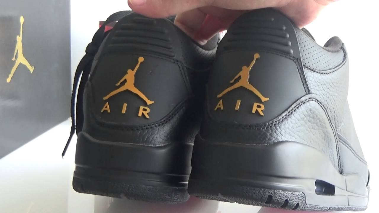 348dfae4038897 Authentic Air Jordan 3 OVO Black HD Review from www.sneakersalon.cn ...