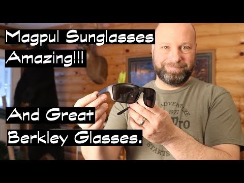 Amazing Magpul Sunglasses And A Great Berkley Option