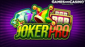 "New online casino slot ""Joker Pro "" (review)"