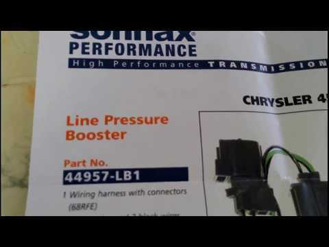 How To Install A Sonnax Line Pressure Booster On A 45rfe
