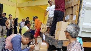 690.791 Surat Suara Pemilu 2019 Tiba di Kabupaten Tapin