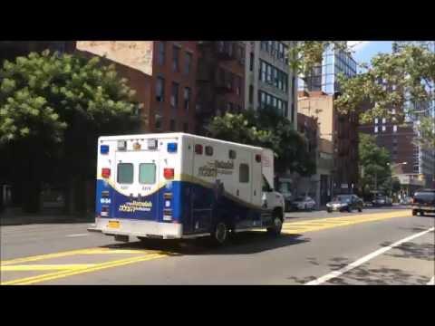 EMS Hatzolah Responding Manhattan 7-22-16