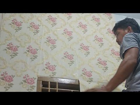 Cara Pemasangan Wallpaper Dinding Youtube