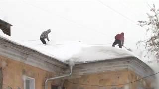 видео Борьба со снегом методом промальпа