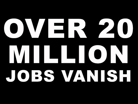 Great Depression Levels! Over 20 Million Jobs Lost. Biggest Drop in History - More Pain to Come!