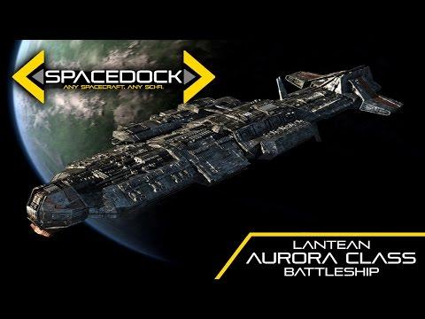 Stargate: Aurora Class Lantean Battleship - Spacedock