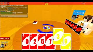 Let's play ROBLOX: Leeds plays UNO in ROBLOX! (Round 2)