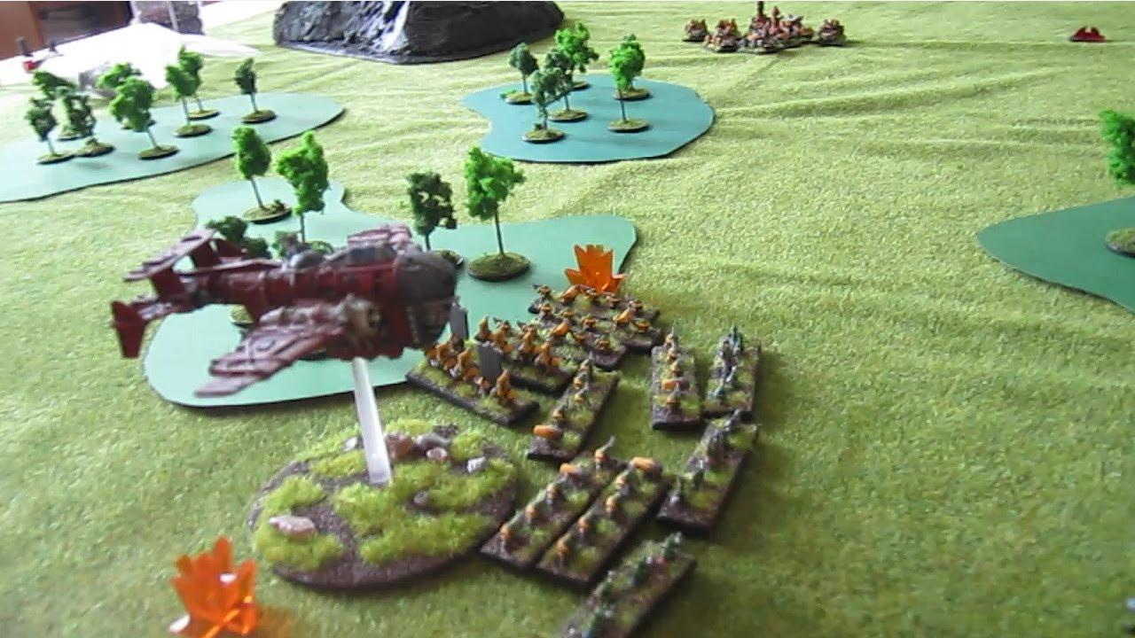 Epic Armageddon battle report: Imperial Guard vs Orks