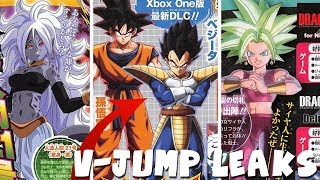 V-JUMP LEAKS! Kefla DLC 7 Xenoverse 2, Goku & Vegeta in Dragon Ball FighterZ, & Android 21 Dokkan!