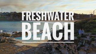 FRESHWATER BEACH - DJI Spark Flight video