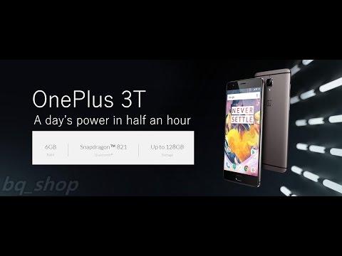 OnePlus 3T 128GB Gray 6GB RAM International Version OPEN BOX