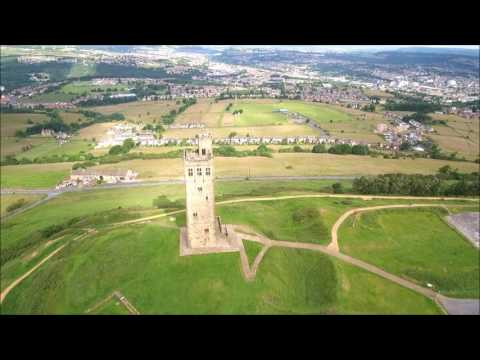 Victoria Tower, Castle Hill, Huddersfield  -  Skydronauts.uk