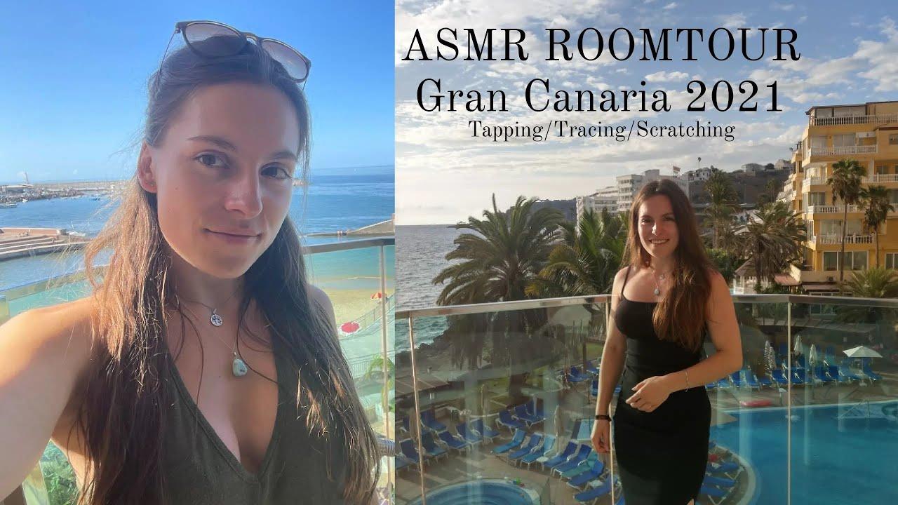 ASMR op vakantie  Gran Canaria☀️✨ TiaraASMR HD (720p)