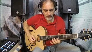 marco fanto jamming with a cbg backing track