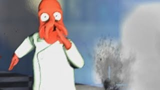 LEFT FOR DEAD WITH AN ARMY OF ZOIDBERG'S