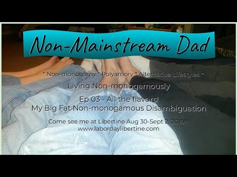 All the flavors! My Big Fat Non-monogamous Disambiguation -