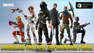 Download Fortnite for Windows Phones - Free XAP