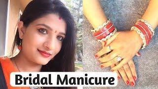 Manicure at home in Hindi   DIY salon style manicure   मैनीक्योर कैसे करें   Hand care tips   AVNI