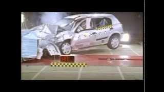 Crash test Nissan Almera N16 2001