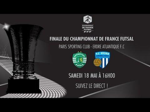 Sporting Paris - FC Erdre Atlantique : Finale du Championnat de France de Futsal 2013