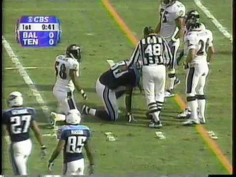 2000 AFC Playoffs Ravens at Titans 1-7-01 (1st Half) Part 1 of 3
