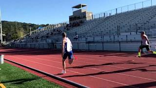 Finally sub 12 seconds (11.83) in the 100m.