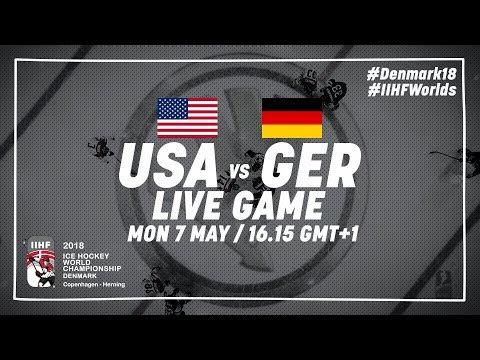 USA - Germany | Live | 2018 IIHF Ice Hockey World Championship
