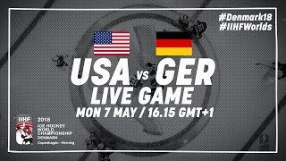 USA - Germany | Full Game | 2018 IIHF Ice Hockey World Championship