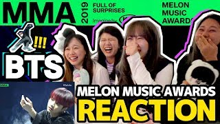 【Reaction】BTS (방탄소년단) Persona + Boy In Luv + Boy With Luv + 소우주 + Dionysus (MMA 2019)|Tungzzang