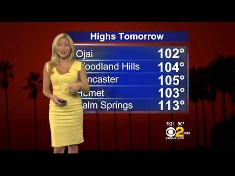 Jackie Johnson 2012/08/13 CBS2 HD