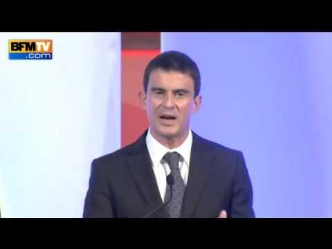 Manuel Valls - Monde de la finance - Vidéo BFM TV le 06/10/14