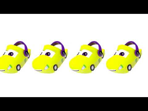 Baby Learn Colors with Colored McQueen Car Nursery Rhymes full HD for kids children