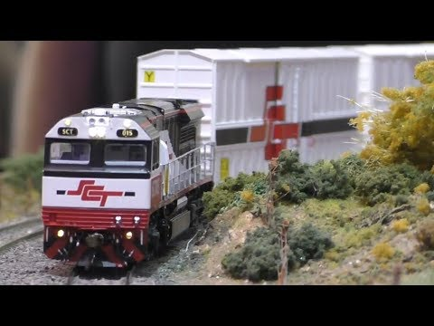 Sandown Model Railway Exhibition 2019 - Australian Trains