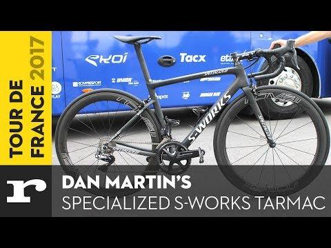 Dan Martin's Specialized S-Works Tarmac