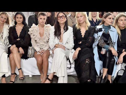 Celebridades en la Semana de la Moda de Nueva York Primavera-Verano 2019