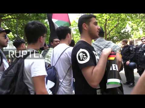Live: Al-Quds Day rally and counter-rally take place in Berlin