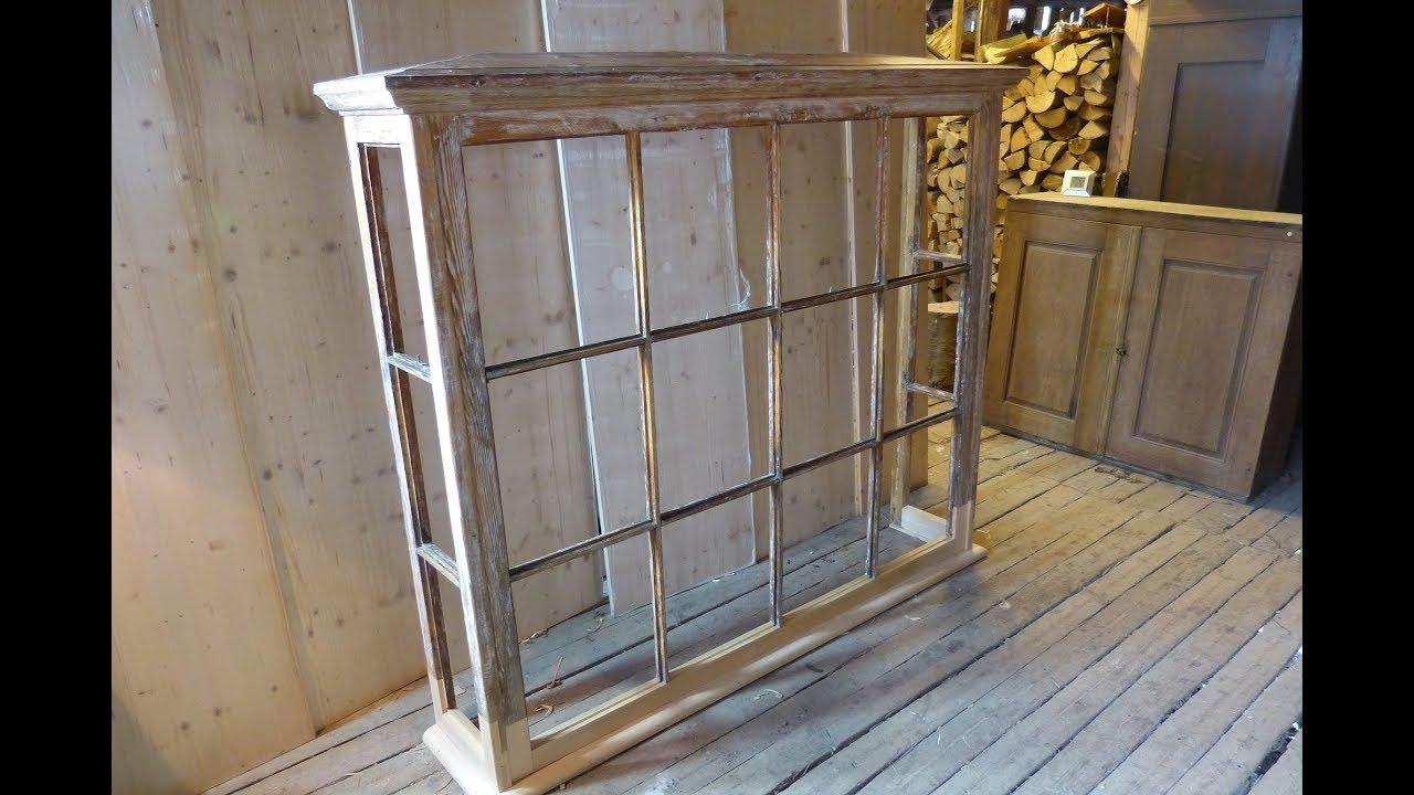 Fenstererker restaurieren, historisches Fenster restaurieren - YouTube