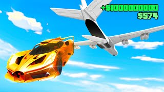 Stealing a $1,000,000,000 SUPERCAR From a Cargo Plane In GTA 5 RP
