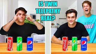 REAL TWIN TELEPATHY TEST! Ft. Dolan Twins