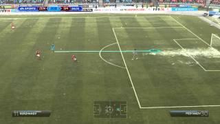 FIFA 14 Gameplay Зенит vs Спартак