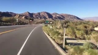 Cycling HWY 74 to Palm Desert