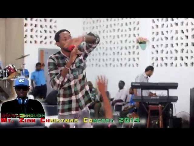 Shawn English Awesome God live (Guyana)