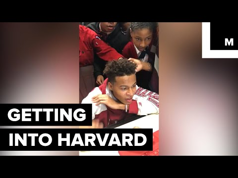 Watch the Exact Moment This 16-Year-Old Found Out He Got Into Harvard and Grab Some Tissues