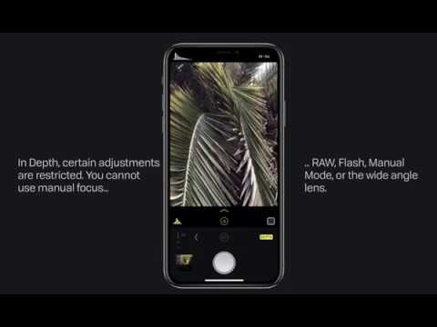 How to capture Depth on iPhone X and 8+ - Halide: RAW Manual Camera