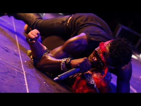 Shatta Wale makes love to Shatta Michy on stage @ S concert | GhanaMusic.com Video