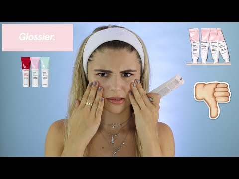 First Impression & Review of Glossier Makeup l Olivia Jade thumbnail