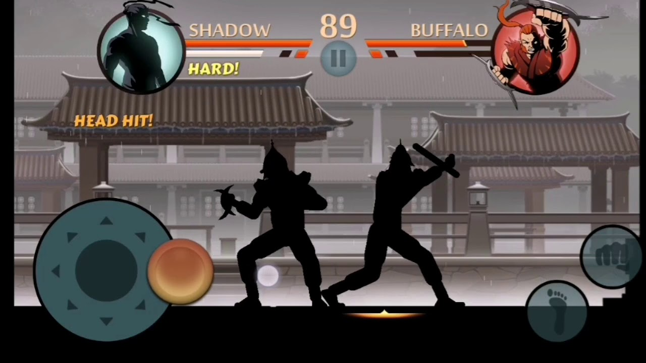 Legendary Gameplay Of Hacked Version Of Shadow Fight - YouTube